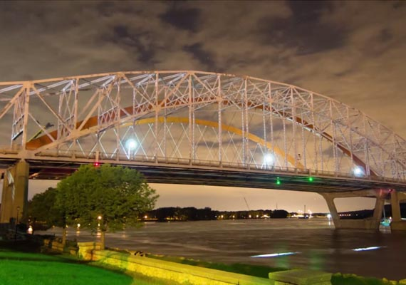 Ride along with Hastings Mayor Paul Hicks as he crosses the new Hastings bridge for the first time. Shot, timelapse and edited. 2nd camera and additional timelapses by Nate Maydole. Client: Seven and Sixty Productions.